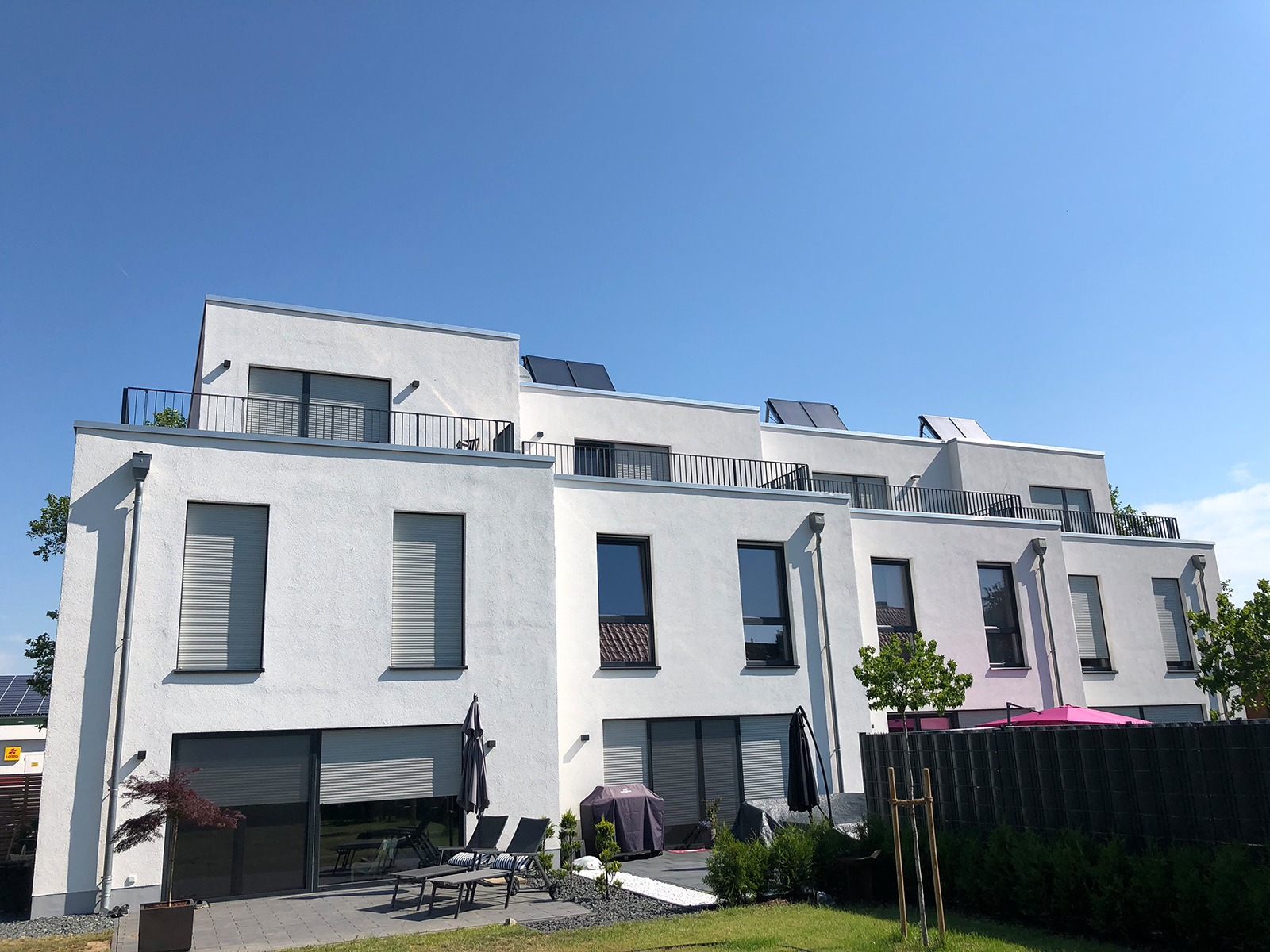 4 Reihenhäuser, Heerstraße 13, Denstorf-1